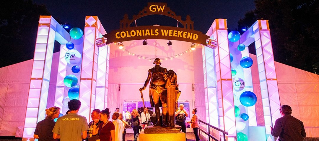 Check out the photo gallery from Colonials Weekend.