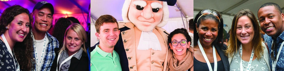 Groups of guests enjoy colonials weekend events