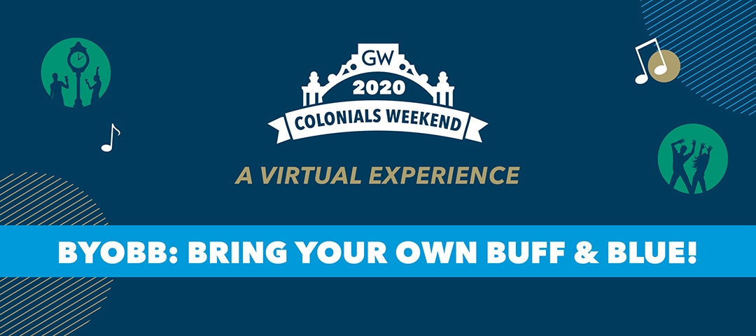 Colonials Weekend 2020: Bring Your Own Buff & Blue